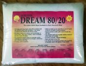 Quilter's Dream 80/20, White, Select Loft Batting - King Size 310cm x 300cm