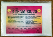 Quilter's Dream 80/20, White, Select Loft Batting - Throw Size 150cm x 150cm