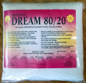 Quilter's Dream 80/20, Natural, Select Loft Batting - Double Size 240cm x 240cm
