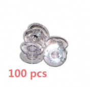 Bluesky 50 ,100pcs SA156 Sewing Machine Bobbins for Brother