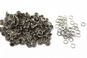 Trimming Shop 100 Pieces 6mm Eyelets And Washers Grommets For Home Repair Construction Manual Plier Or Machine Setting For Clothing Silver
