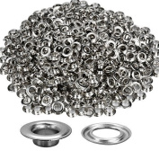 Trimming Shop 100 X 8mm Silver Grommets For Leather Crafts Eyelets For Adding Decorative Ribbons Lacing And Fabric In Art And Sewing Projects Ideal