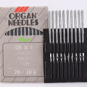 10pc Organ Sewing Needle 16x231 16X257 DBX1 70/10B