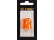 Dill Thimbles Jelly Fingers 20mm Carded 1pc Orange