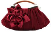 Thenice Women's Silk Flowers Wedding Evening Bags Clutch