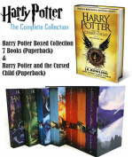Harry Potter 7 Book Box Set + 1 Free and the Cursed Child - Parts One & Two