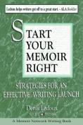 Start Your Memoir Right