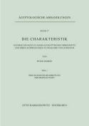 Die Charakteristik / Philologische Bearbeitung Der Bezeugungen [GER]