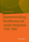 Raumentwicklung, Bevolkerung Und Soziale Integration [GER]