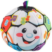 Laugh & Learn Singin' Soccer Ball Teaches Counting, Alphabet, Sportsmanship, Manners,Colours And More