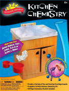 Kitchen Chemistry Kit with 3 Paper Clips, Spoon, 2 Straws, Cardboard Cabinet & Much More