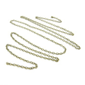 Fashion Jewellery Making Charms Wholesale Supplies Pendant Retro DIY Necklace Schmuckteile Keyrings Jewellery Findings B35425 Chain 2.5mm