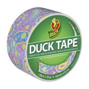 Duck Brand 283049 Printed Duct Tape, Purple Paisley, 4.8cm x 10 Yards, Single Roll