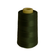 6000 Yards Olive Sewing Thread All Purpose 100% Spun Polyester Spools Overlock Cone