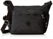Kipling Women's Gabbie Cross-body Bag Black (REFH53 Dazz Black) 35.5x30x18.5 cm