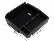 Car Glove Box Armrest Storage box Organiser Centre Console Tray-fit Infiniti Q50 2014 2015