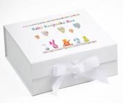 Baby Keepsake Box, Memory Box, Balloons, Baby Gift, Baby Shower Gifts