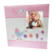 Baby Moments Pink Memo Album for 200 Photos 10 x 15 cm