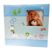 Baby Moments Blue Memo Photo Album for 200 Photos 10 x 15 cm