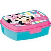 Joy Toy 756574 18 x 15 x 8 cm Minnie Design Lunch Box