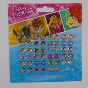 Joy Toy 63209 Disney Princess Sticker Earrings on Backer Card