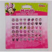 Joy Toy 71432 Minnie 24 Earrings Sticker on Backer Card