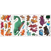 Joy Toy 65435 Coconut and Friends Wall Decal Sticker in Blister Pack