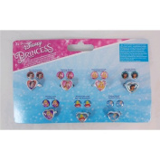 Joy Toy 63523 Disney Princess 7-Days Stickers Earrings and Rings Set