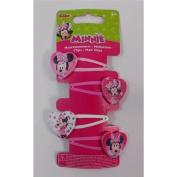 Joy Toy 71136 Minnie 4 Hair Clothes Clip on Backer Card