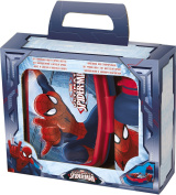 Joy Toy 759473 Spiderman Lunch Box and Water Bottle in Gift Wrap