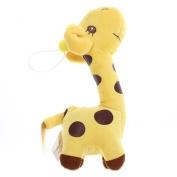 Ppower Lovely Giraffe Plush Stuffed Animal Puppet Soft Toy