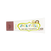 Jack N' Jill Raspberry Toothpaste Natural with Organic Flavouring 50g
