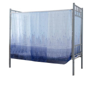 hunpta® Students Dormitory Bunk Beds Nets Spread Blackout Curtains Mosquito Net