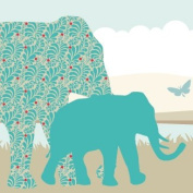 "Wallpaper Border Children ""Sunny Safari"""