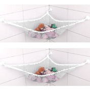 Enjoydeal Toy Hammock Animals Net Organiser Stuffed Bath Kids Toy Hanging Bag 120 x80