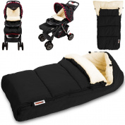 Baby Stroller Buggy Padded Footmuff Cosytoes Universal Liner Warm Cosy - 90cm