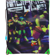 Teenage Mutant Ninja Turtles Drawstring School Sports Gym & Swimming Bag