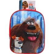 The Secret Life of Pets Duke & Max Toddlers Travel Backpack Bag