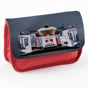 Cars 10015, Race Car, Red School Kids Sublimation High Quality Polyester Pencil Case Pencil-box with Colourful Printed Design.21x12 cm.