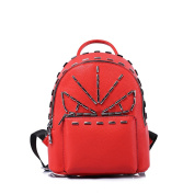Lady backpack/Fashion rivet small bags-C