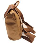Tulip backcap handbags in beige colour