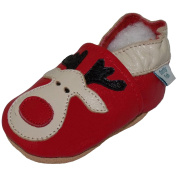 Dotty Fish - Soft Leather Baby & Toddler Shoes - Boys & Girls - Christmas