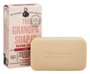 Grandpa's Soap Co. - Face & Body Bar Soap Rose Clay - 130ml