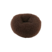 Crepe Bean Pouffe Bun Brown Eco 12 cm H5