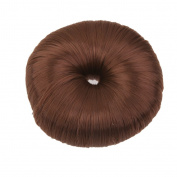 Fashion Bun Shapers Hair Doughnut Bun Ring Shaper Hair Donut Style Updo - Light Coffee