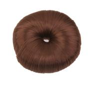 Fashion Bun Shapers Hair Doughnut Bun Ring Shaper Hair Donut Style Updo - Light Coffee