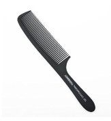 1 pcs Professional Black Plastic Carbon Clipper Comb
