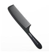 1 pcs Professional Black Plastic Carbon Clipper Comb