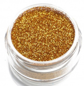 Glimmer Body Art Gold Body Glitter (Gold) Party Accessory