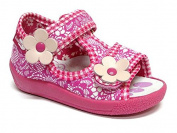 Baby Toddler Girls Canvas Shoes Kids Sandals #10